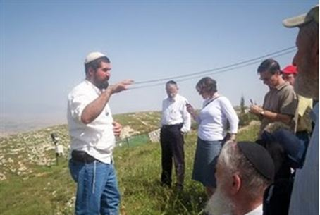 David HaIvri at Elon Moreh