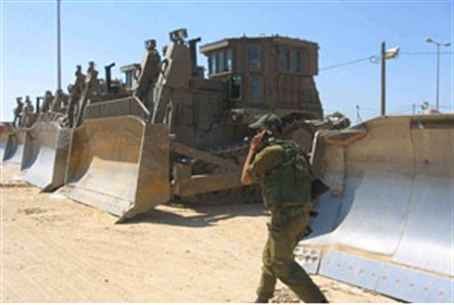 IDF Bulldozers (file)