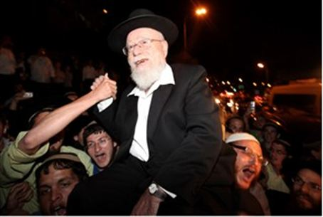 Rav Lior after questioning
