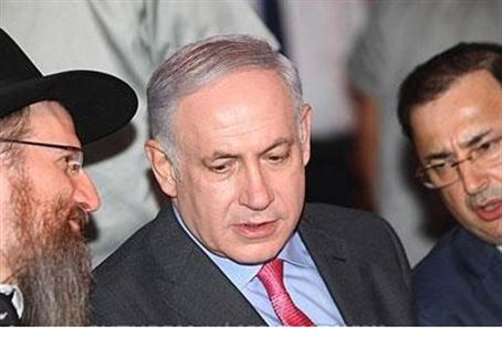 Rabbi Berel Lazar, PM Netanyahu