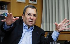 Barak makes a point (file)