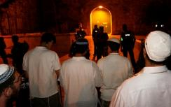 Prayers at Temple Gate under police guard