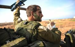 IDF soldier in Gaza (not connected to story)