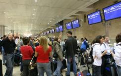 Ben Gurion Airport, travelers to be checked