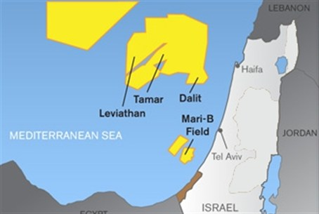 Israeli Gas Fields
