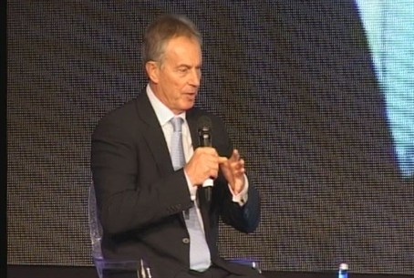 Tony Blair in Israel