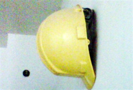 Yellow hard hat from Ground Zero