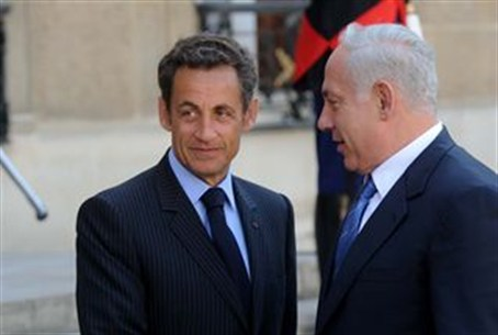 Sarkozy and Netanyahu