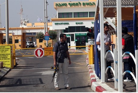 Israel-Egyptian crossing at Taba