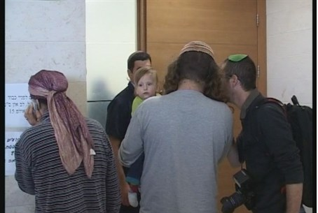 The families of the girls at the Petach Tikva
