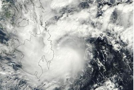 Tropical storm Washi, southern Philippines