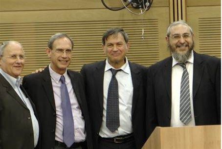 Dr. Yehuda David and MKs