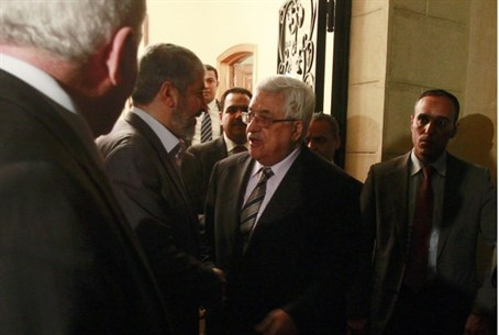 Abbas and Mashaal in Egypt