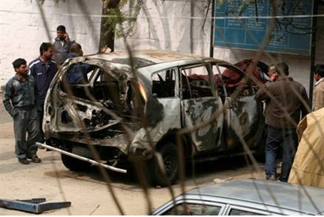 Indian national arrested in Israeli car bomb