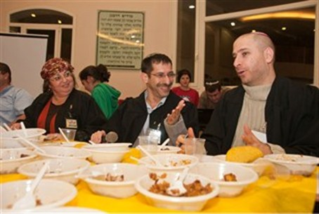 Judges of cholent contest