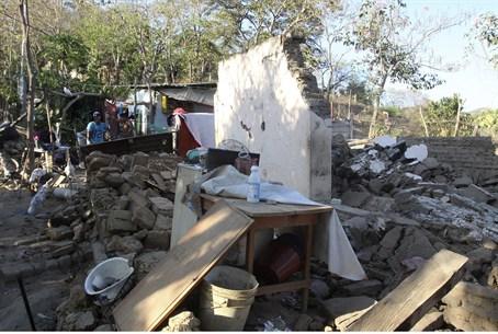 Mexico Quake Damage, 2012