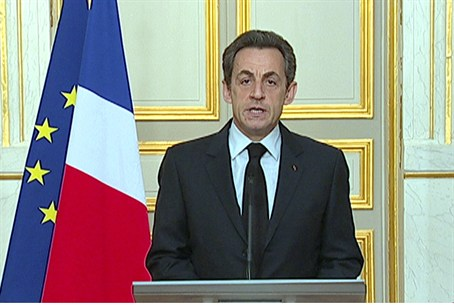 Sarkozy Announces Crackdown
