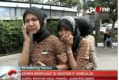 Following quake in Banda Aceh