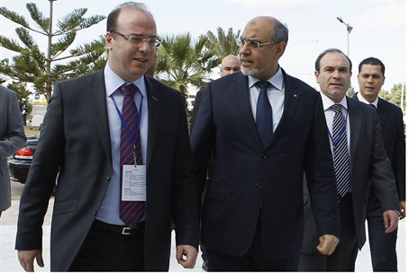 Tunisia's Prime Minister and Minister of Tour