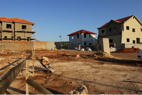 Construction in Judea and Samaria