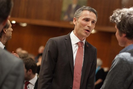 Norwegian PM Jens Stoltenberg / archive photo
