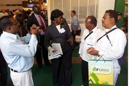 South Sudan's Agriculture Minister at Agritec