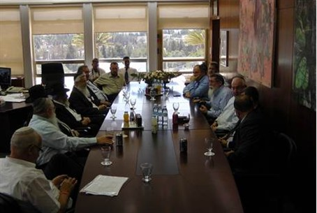 Rabbis and Minister s Meet