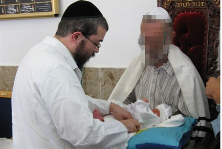 Circumcision for Jewish baby saved from Arabs