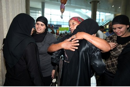 Zindani family arrives in Israel