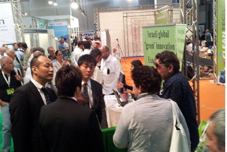 Japanese experts at CleanTech 2012