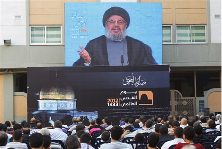Nasrallah addresses rally, 17.8.12