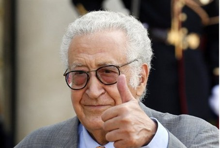 International peace envoy Lakhdar Brahimi