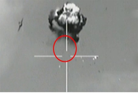 Destruction of enemy UAV