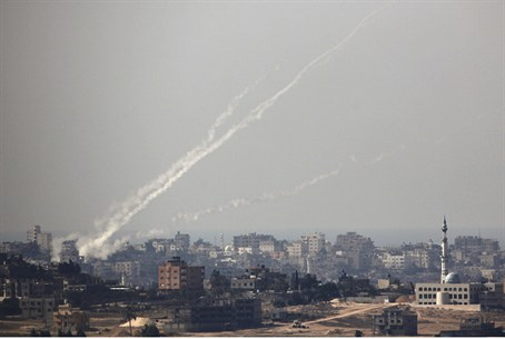 rocket launched from Gaza