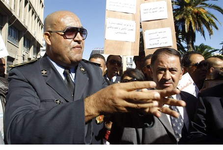 Security and police officials at Tunisia's In