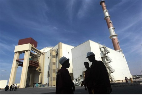 The Bushehr nuclear power plant in southern I