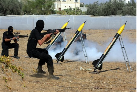 Terrorists continue to fire rockets at Israel