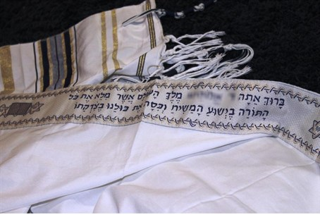 The missionary 'prayer shawl'
