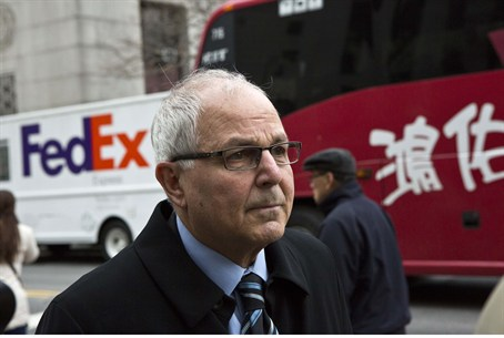 Peter Madoff arrives at Federal Court in New