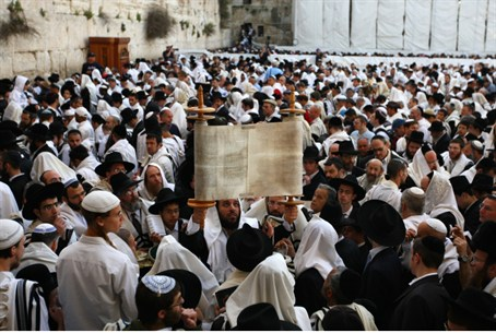 Vote for the covenant' : Torah scroll at Kote