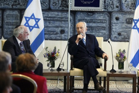 President Peres Speaks to Conf. of Presidents