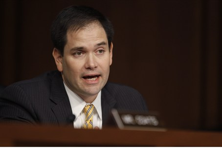 Senator Marco Rubio is leading Republican ef