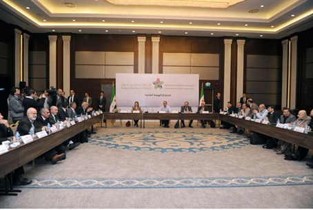 Syria's opposition coalition meeting in Istan