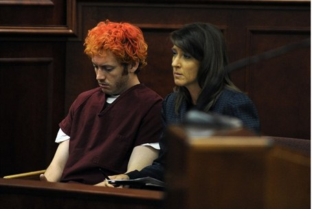 Suspected gunman James Holmes