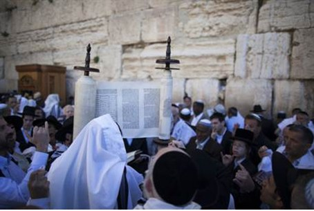 Kotel priestly blessing
