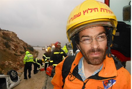 Samaria emergency team at work