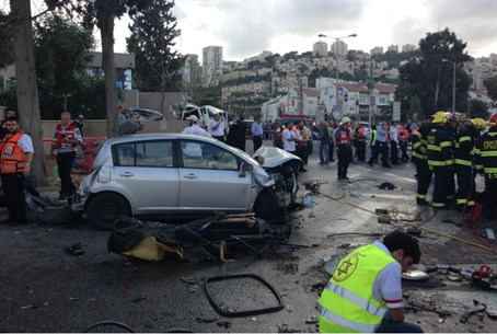 Nesher accident