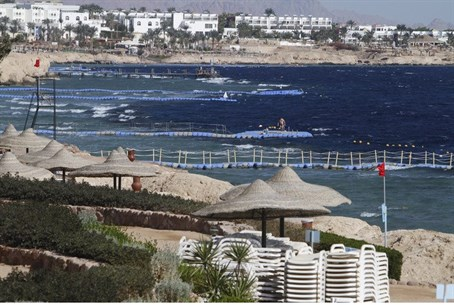 Beach resort in Sharm el-Sheikh,