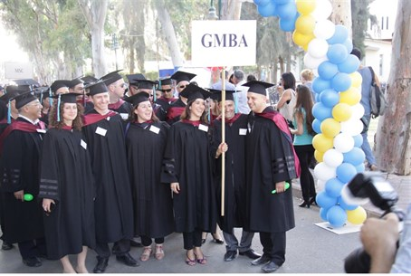 Students in the IDC Global MBA Program