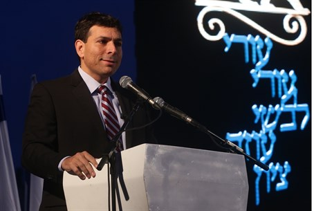 Danny Danon at ceremony